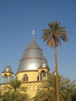 Tomb of Sudanese messianic colonial leader al Mahdi in Ombdurman.